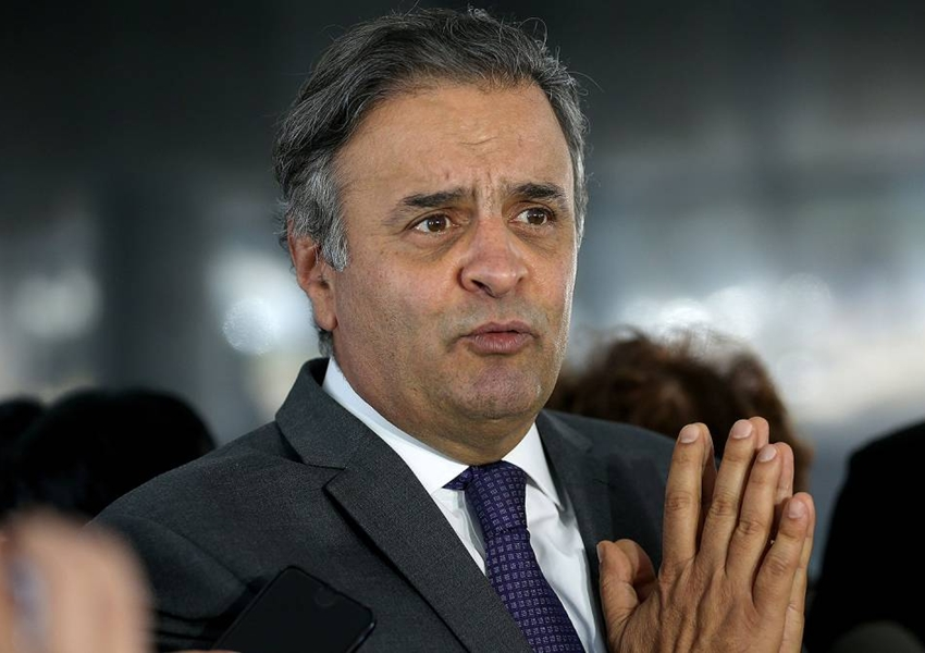 STF decide hoje se torna réu o senador Aécio Neves