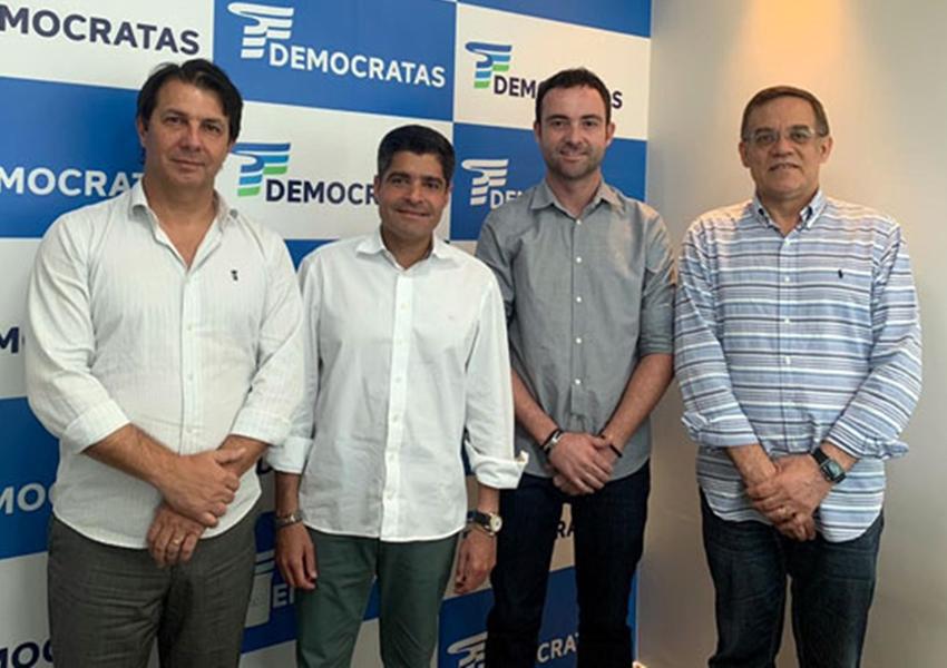 Brumado: Fabrício Abrantes filia-se ao Democratas e recebe apoio de ACM Neto à sua pré-candidatura