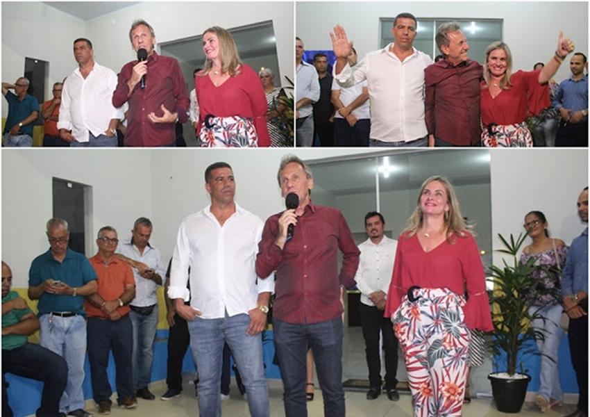 Dom Basílio: Inaugurado o novo Centro Integrado de Assistência Social no Bairro Santa Luzia