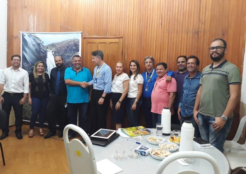Prefeito de Livramento se reúne com a Superintendência do Banco do Brasil