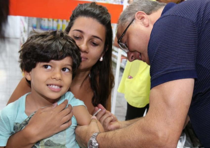Campanha estadual de imunização na volta às aulas será lançada em fevereiro