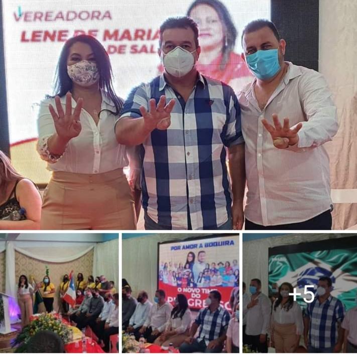Deputado Marquinho Viana participa de convenções pelos municípios