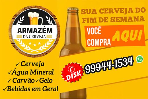 Fim de Semana combina com Armazém da Cerveja em Livramento; Disk Entrega 77 99944-1534