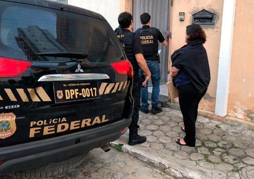 PF deflagra operação em combate ao desvio de cerca de R$ 1,5 milhão em recursos públicos no sudoeste da Bahia