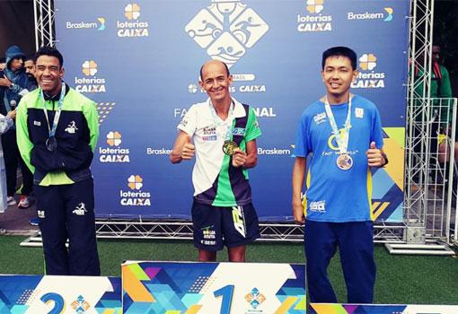 Tõe Corredor conquista 1º lugar nos 1500 e 5000m na 1ª etapa nacional do Circuito Loterias Caixa de Atletismo - Circuito Nacional Paralímpico