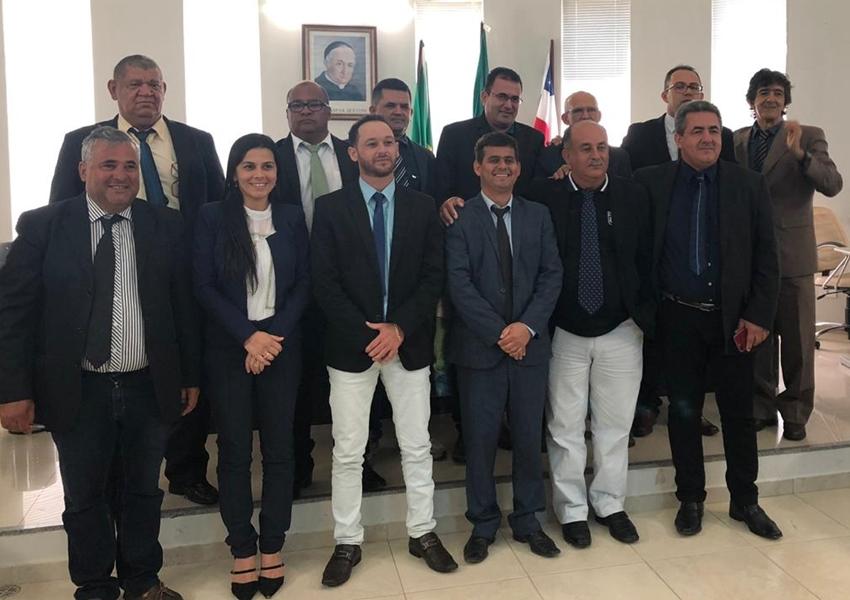Livramento: Cidão Aracatu é reeleito presidente da Câmara para o biênio 2019/2020; José Araújo foi eleito Vice-presidente