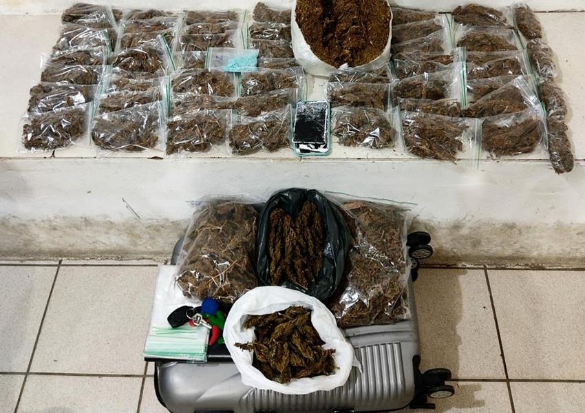 Três pessoas são presas com maconha e ecstasy em cidades do sudoeste da Bahia