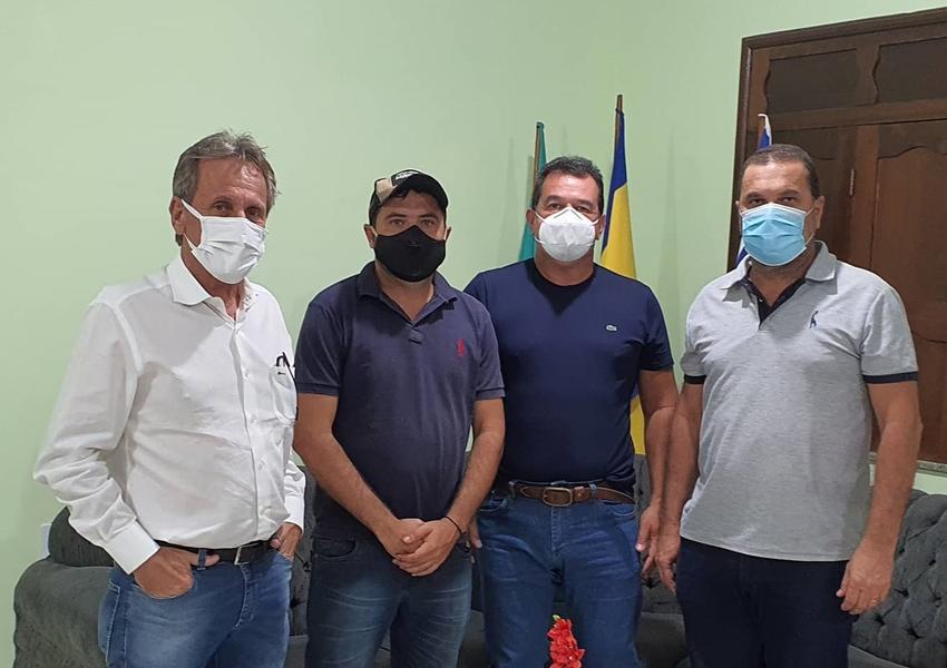 Deputado Marquinho Viana visita Jussiape, Rio de Contas e Dom Basílio