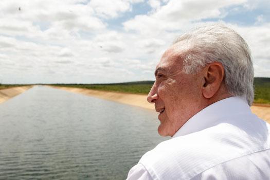 Xique-Xique: Michel Temer inaugura duas primeiras etapas de sistema de irrigação