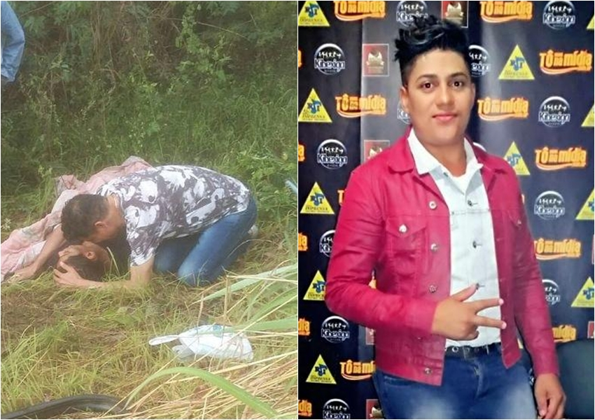 Filho do cantor Cristiano Neves morre após micro-ônibus da banda capotar na BR-135