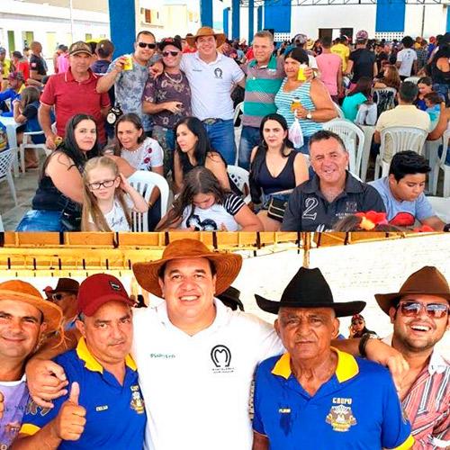 Deputado Marquinho Viana participa da tradicional Cavalgada de Jussiape