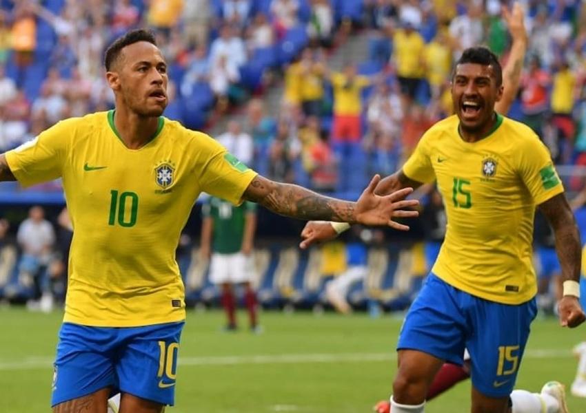 Em jogo duro, Brasil vence México e passa para as quartas de final