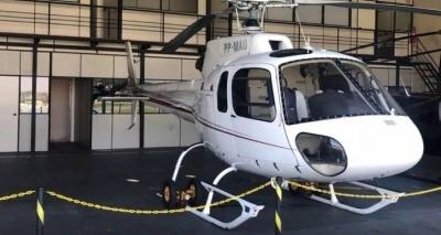 Piloto de helicóptero de Perrella é preso em SP por transporte de cocaína