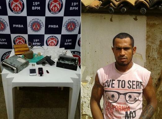 Ex-presidiário morre durante ação da Polícia Militar no Entroncamento de Jaguaquara