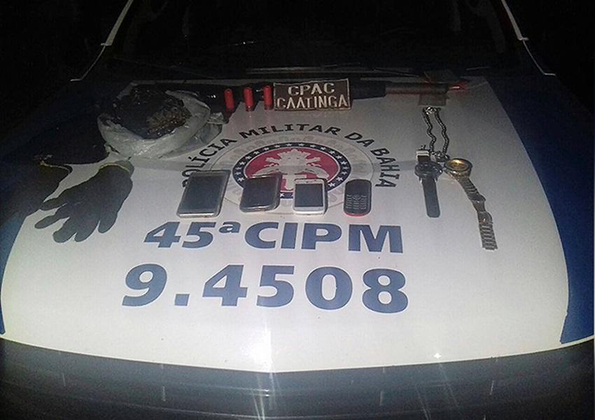 Integrantes de quadrilha que roubavam caminhoneiros em Curaçá é preso pela Caatinga