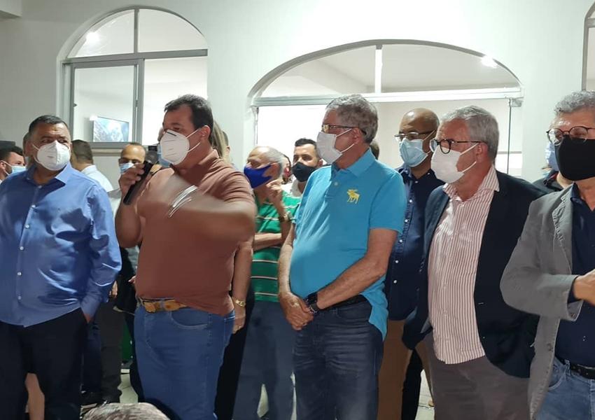 Deputado Marquinho Viana participa da inauguração da reforma e ampliação do Hospital municipal de Livramento