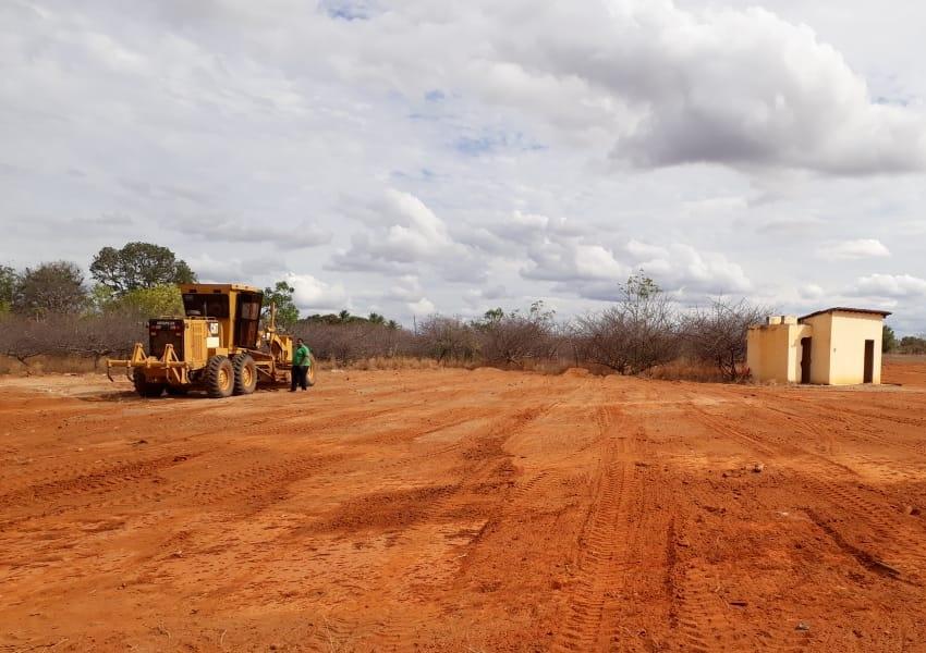 Iniciado serviços do Viveiro Municipal de Livramento para o cultivo de mudas de plantas
