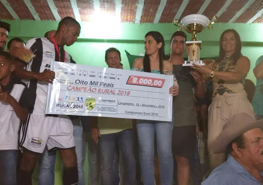 Livramento: Nos pênaltis, Nado de Cima vence Monte Oliveira e é bicampeão do Campeonato Rural 2018; veja fotos