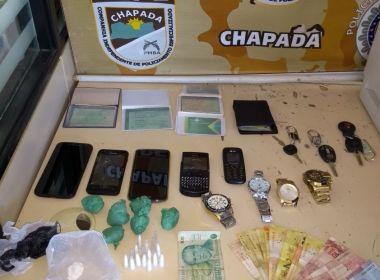 Rui Barbosa: Quadrilha de tráfico e usuários que negociavam droga vão parar na delegacia