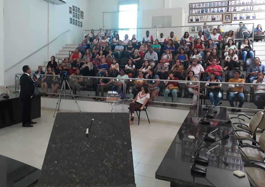 Livramento: CEJUSC e Secretaria de Assistência Social promoveram palestra com Juiz da Vara Cível Dr. Antônio Carlos