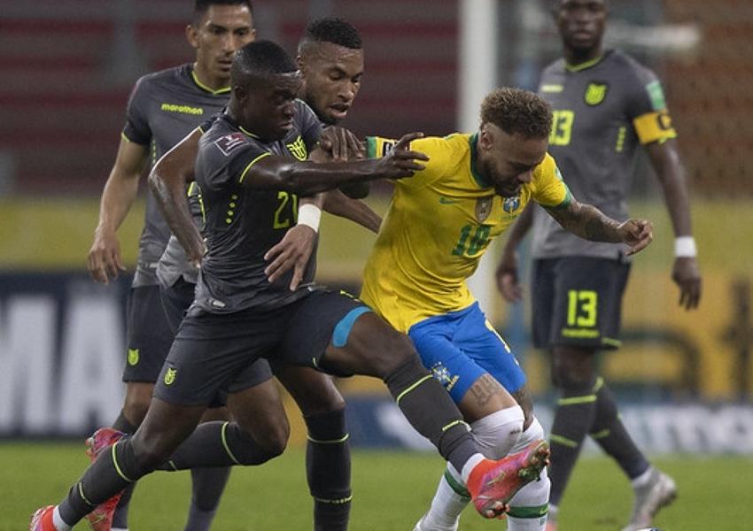 Brasil vence Equador por 2 a 0 e mantém invencibilidade nas Eliminatórias