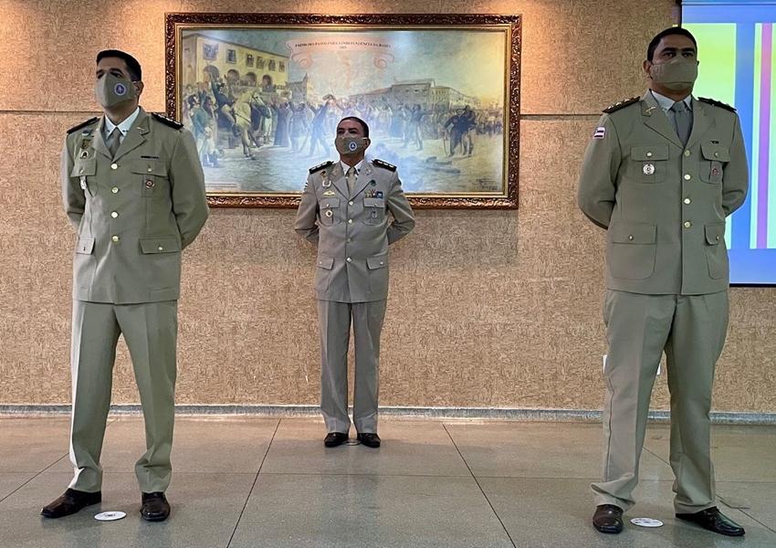 Conquista: Passagem de Comando da 80ª e 78ª CIPM e Assunção de Comando da 77ª CIPM