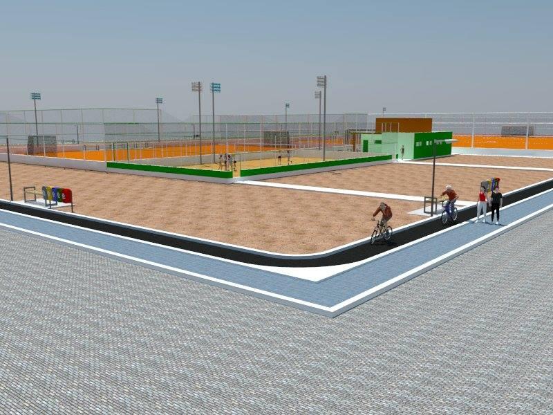 Livramento: Bairro Taquari receberá centro para práticas esportivas