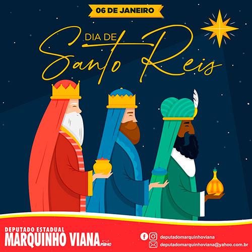 Deputado Marquinho Viana celebra Dia de Santo Reis
