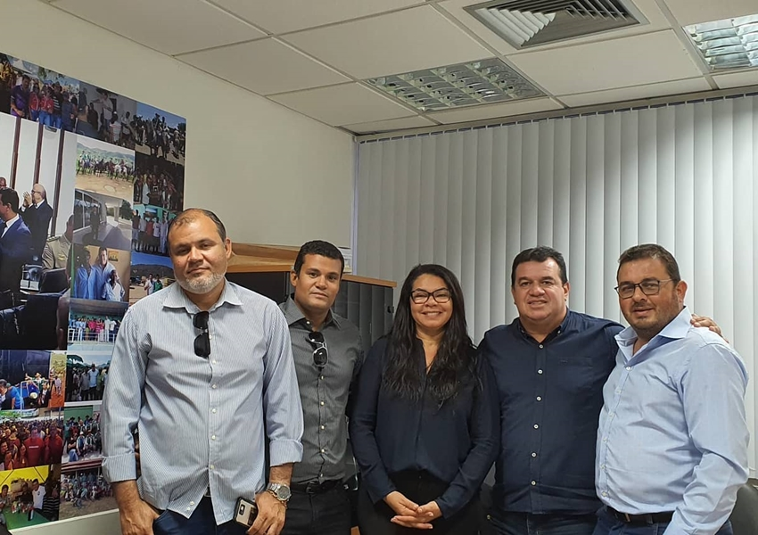 Deputado Marquinho Viana agiliza serviços e obras para Boquira