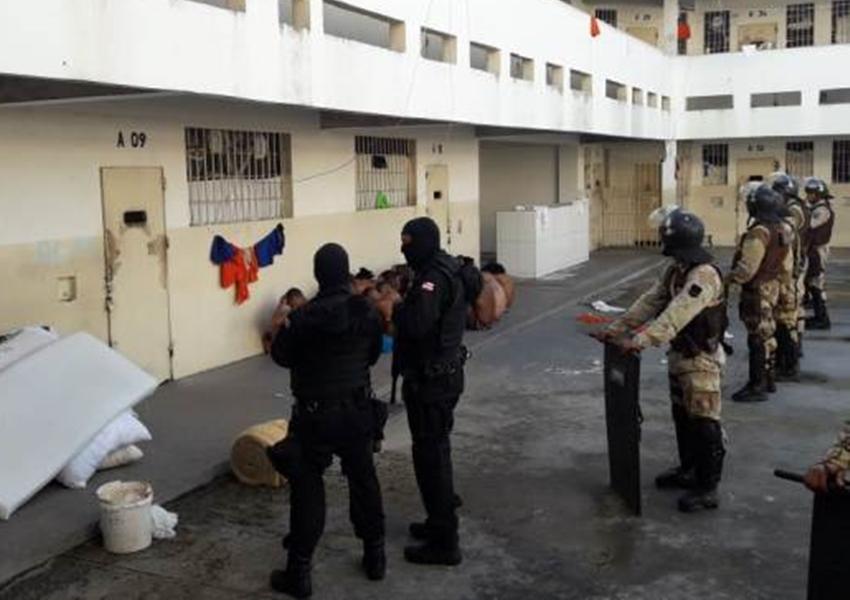 MP deflagra operação para reprimir entrada de drogas e celulares em presídios baianos