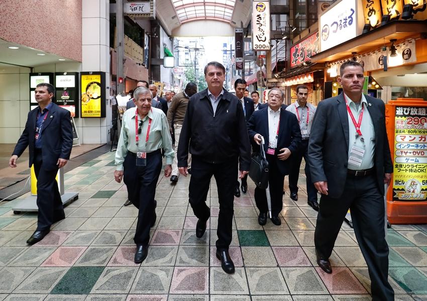 Bolsonaro desembarca no Japão para participar do G20