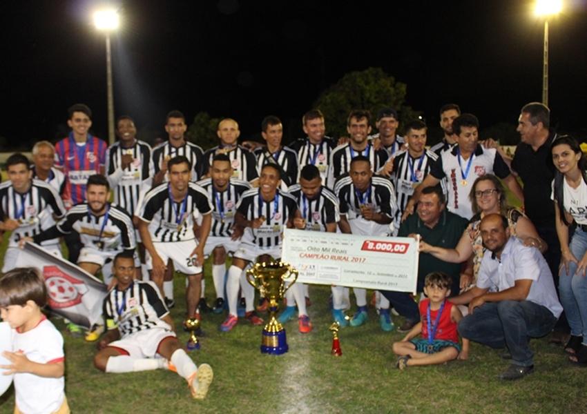 Nado de Cima é campeão do Campeonato Rural Livramentense 2017