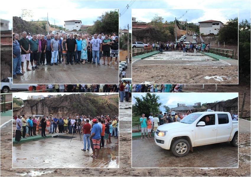Livramento: Na virada de ano prefeito entrega reforma e ampliação da ponte da Ladeira do Bonfim e prédio da Prefeitura