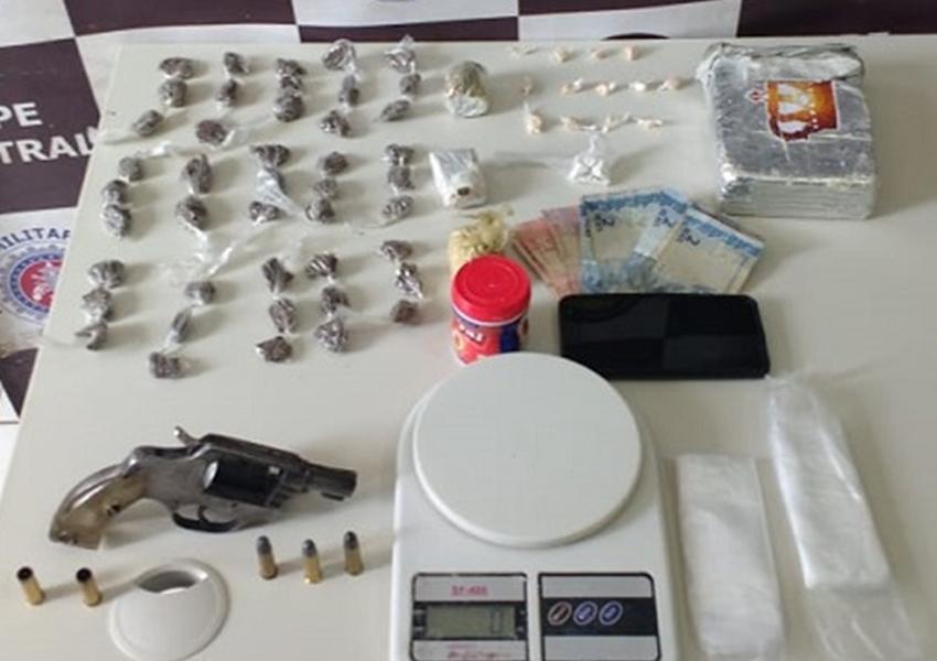 Acusado de tráfico de drogas é morto em ação policial no distrito de Valentim