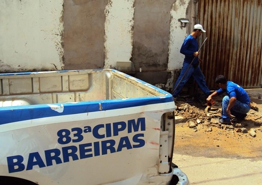 Em três meses, Embasa descobre cerca de 50 fraudes na rede distribuidora de água de Barreiras