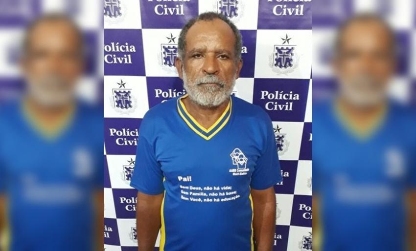 Preso homem acusado de estuprar as próprias filhas no interior da Bahia