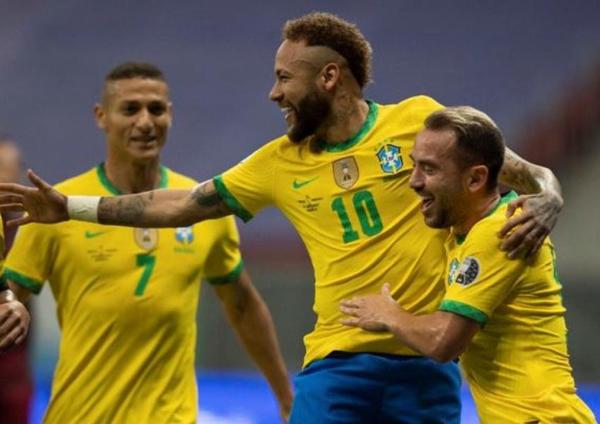 Brasil vence Venezuela por 3 a 0 em estreia na Copa América