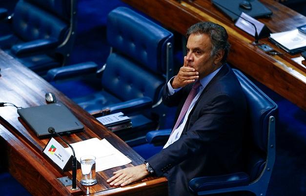 Alexandre de Moraes manda Aécio Neves e mais 7 parlamentares para primeira instância