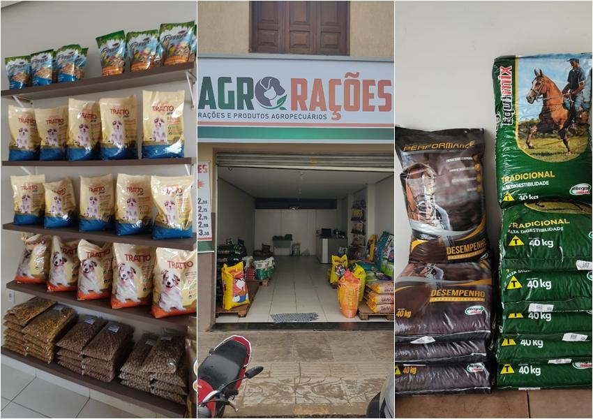 Chegou em Livramento a 'Agro Rações' a sua loja de rações e produtos agropecuários