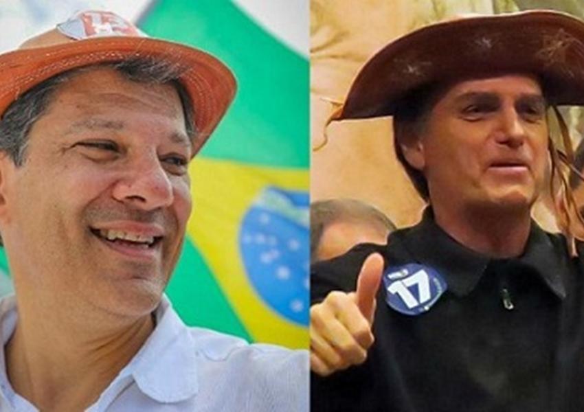 No nordeste, Haddad tem 57% e Bolsonaro 33%, diz Ibope