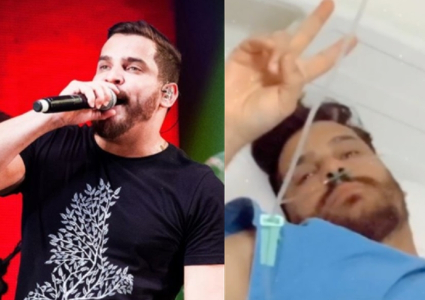 Cantor sertanejo está com 70% do pulmão comprometido pelo coronavírus