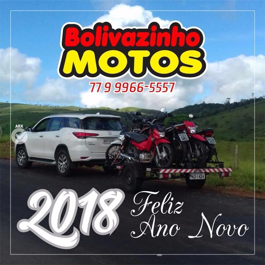 Bolivazinho Motos deseja todos os clientes e amigos um Feliz Ano Novo