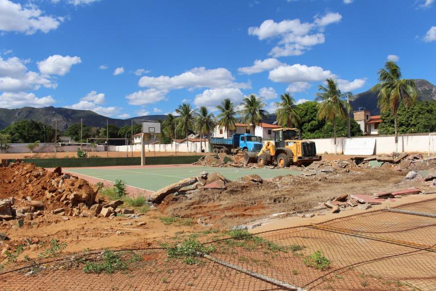 Livramento: Escola Municipal Polivalente ganhará ginásio poliesportivo