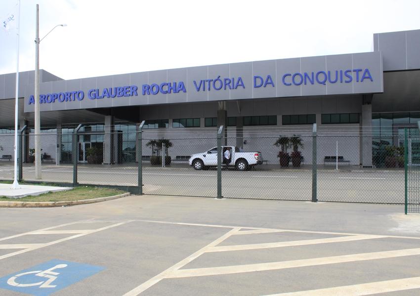 Vitória da Conquista: Movimento de passageiros aumenta 76% no Aeroporto Glauber Rocha