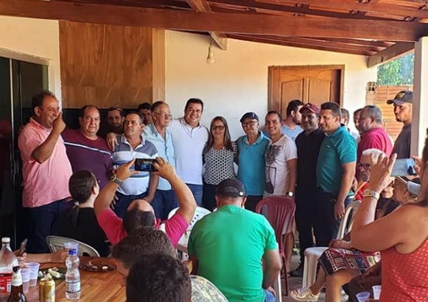 Deputado Marquinho Viana recebe apoio do grupo do prefeito de Tanhaçu, Dr. Jorge