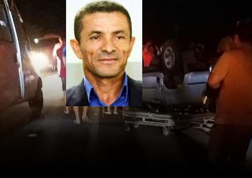 Vereador de Casa Nova no norte da Bahia morre em acidente de carro