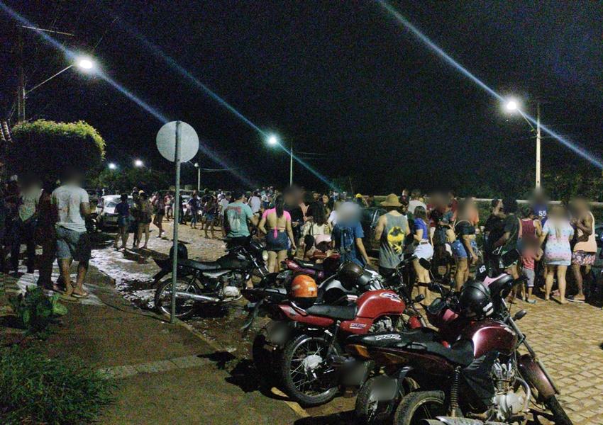 Livramento: PM recebe denúncia e desfaz aglomeração de pessoas no Bairro Jurema