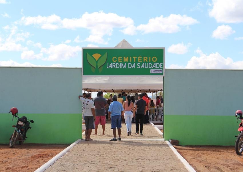 Cemitério Jardim da Saudade é inaugurado em Livramento de Nossa Senhora