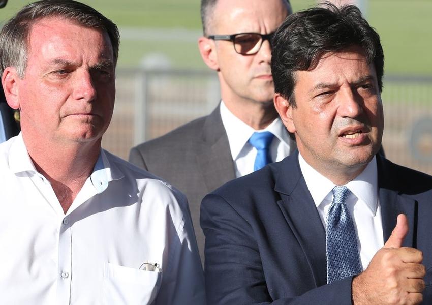 'Nós vamos continuar', diz Mandetta após reunião com Bolsonaro