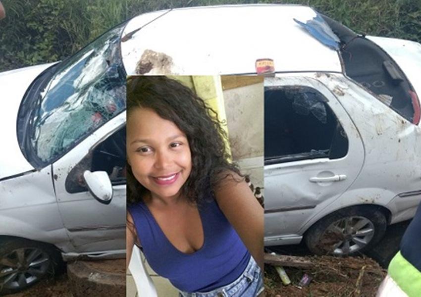 Jovem morre em acidente de carro na BR-415, em Ibicaraí